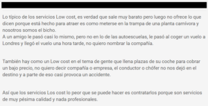 Opinion autoescuela low cost